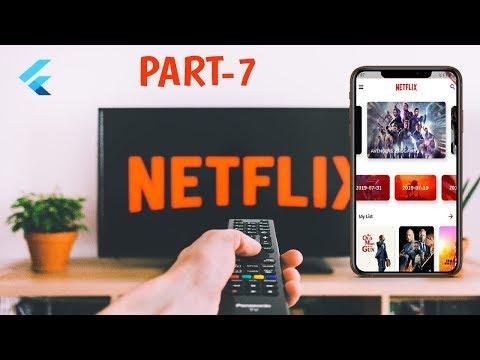 Flutter: Netflix clone Part-7 (UI)