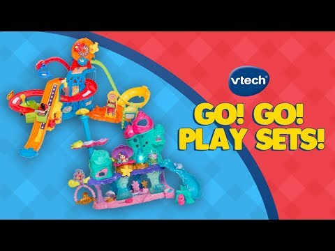 Go! Go! Smart Line Play Sets from VTech! | A Toy Insider Play by Play