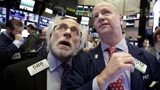 Dow dives again as stocks fall overseas