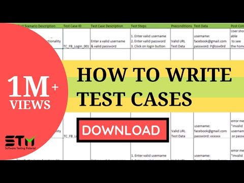 How To Write TEST CASES In Manual Testing | Software Testing