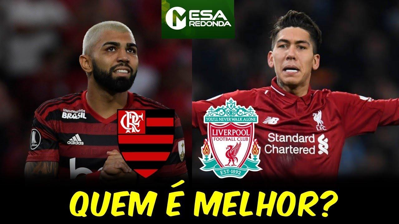 Flamengo X Liverpool Quem é Melhor 220919