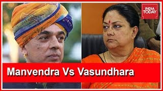 Jaswant Singh's Son Manvendra To Face Off Against Vasundhara Raje In Rajasthan Polls
