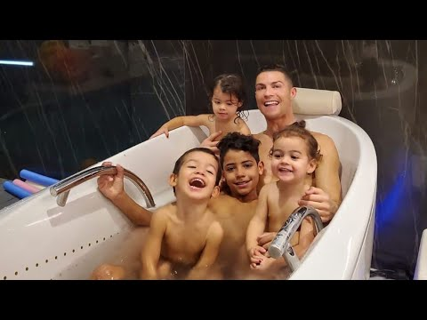 CRISTIANO RONALDO & RONALDO JR FUNNY MOMENTS April 2020 ● Try not to laugh