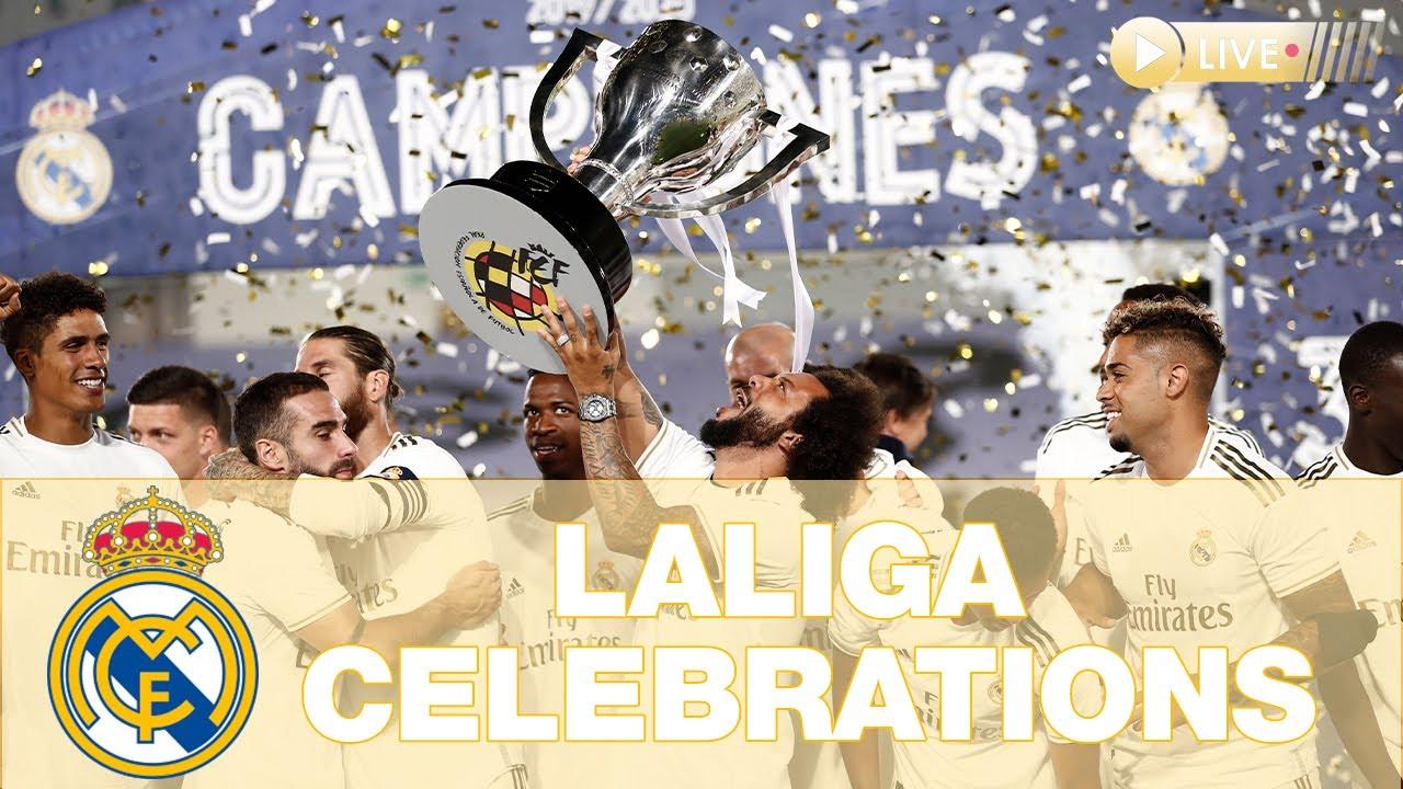 Download Real Madrid, LaLiga CHAMPIONS 2019/20 celebrations!