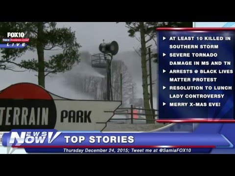 FNN: Severe Storm and Tornado Damage in Mississippi and Tennesee