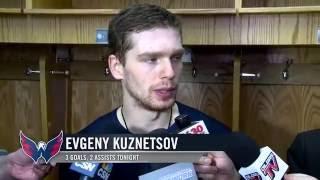 Овечкин поздравил Кузнецов с первым хет триком