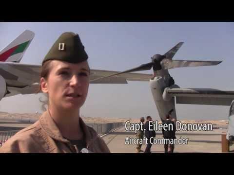 V-22 Osprey Tour at Bahrain Airshow