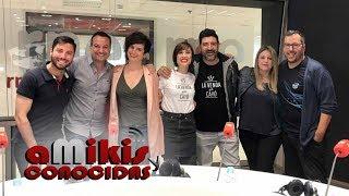 Tony Aguilar, Julia Varela, Dani Galindo y Víctor Escudero en 'aMikis y conocidas'   Eurovisión 2019