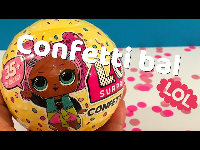 DEEL 2: CONFETTI BAL OPENMAKEN L.O.L. Surprise: zo leuk met echte confetti!