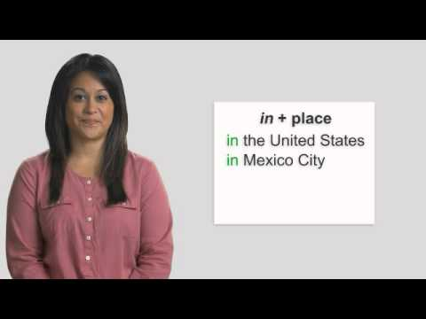 Top Notch 3rd edition Level 1 Grammar Coach video - Place and Where