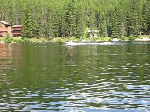lake inez montana jake, bro, dad jet skis
