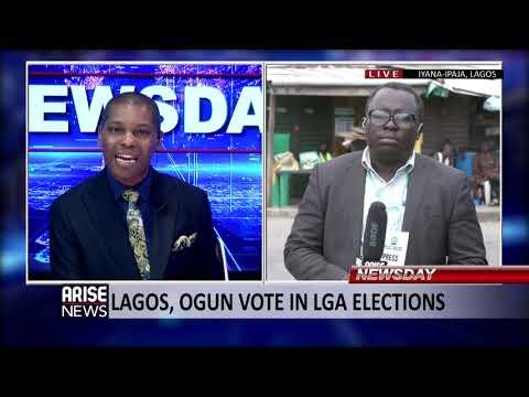 UPDATE ON LAGOS AND  OGUN LGA ELECTIONS