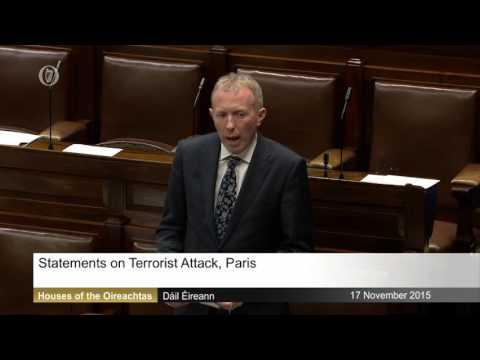 Thomas Speaks on Paris Attacks