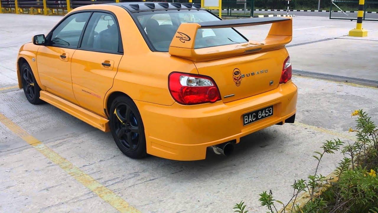 Subaru Impreza 1 6ts Mp4 Youtube