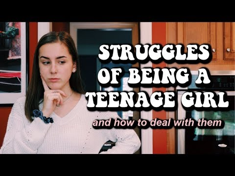 HOW TO DEAL WITH BEING A TEENAGE GIRL (boys, drama, social media, etc.) | Lauren Evelyn