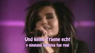 Tokio Hotel - Rette Mich (Letra: aleman y español)