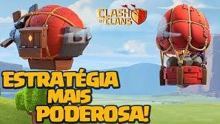 AS ESTRATÉGIA MAIS FORTE ATUALMENTE DO CV10 AO CV12 CLASH OF CLANS