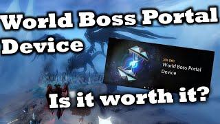World Boss Portal Device Review - Is it worth it? - Guild Wars 2