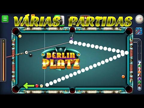 8 Ball Pool - VÁRIAS PARTIDAS: BERLIN PLATZ #16