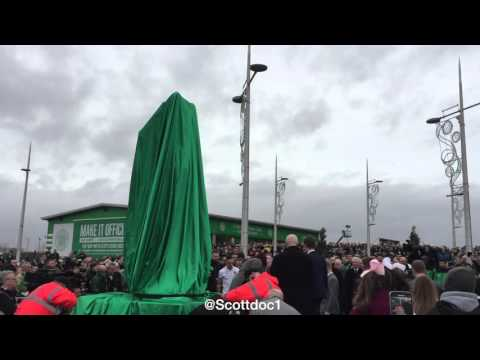 Billy McNeill Statue Unveiling at Celtic Park 2015