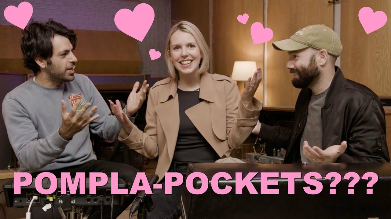 Pomplamoose + Scary Pockets love triangle 😍😍😍