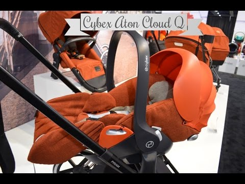 new cybex aton cloud q infant seat abc kids expo 2014. Black Bedroom Furniture Sets. Home Design Ideas