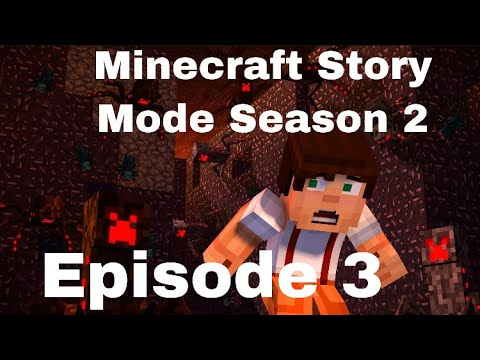 Jailhouse Block-Minecraft Story Mode-Season 2-Episode 3