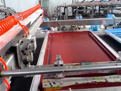 FABRIC PRINTING MACHINE - FULLY AUTOMATIC from Black & White GuoLian, INDIA  & CHINA