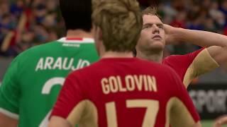 Россия - Мексика КК-2017 по версии FIFA 17