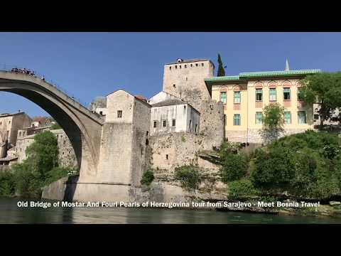 Old bridge of Mostar and four pearls of Herzegovina tour from Sarajevo by Meet Bosnia