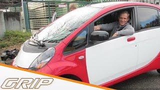 Günstige Elektroautos im Test | Mitsubishi i-MiEV, Renault Twizy und Zoé |GRIP
