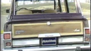 MotorWeek | Retro Review: '83 Jeep Grand Wagon