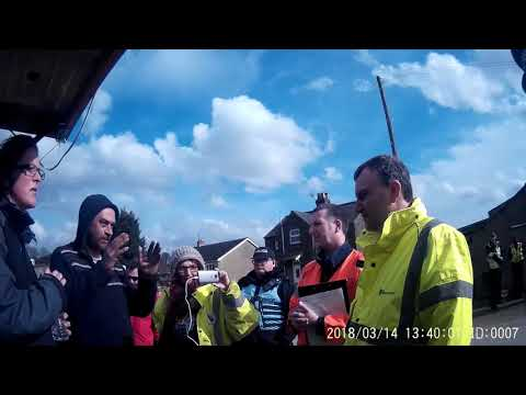 Highways Agency notifies Kirby Misperton Forward Protection Camp of end of Fracking operation