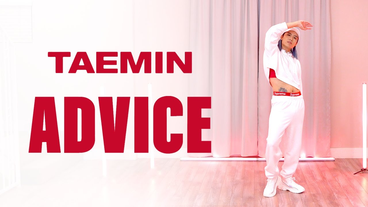 TAEMIN - 'Advice' Dance Cover | Ellen and Brian