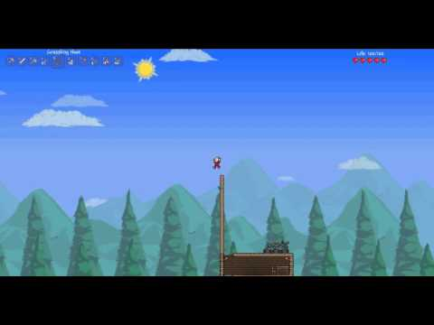 Terraria: How to Take No Fall Damage- (Without Lucky Horseshoe)