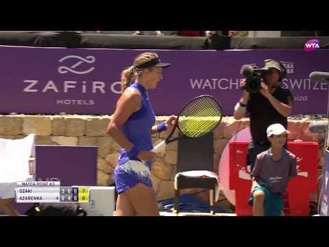 Азаренко отыграла три матчбола и одолела Одзаки на турнире на Мальорке