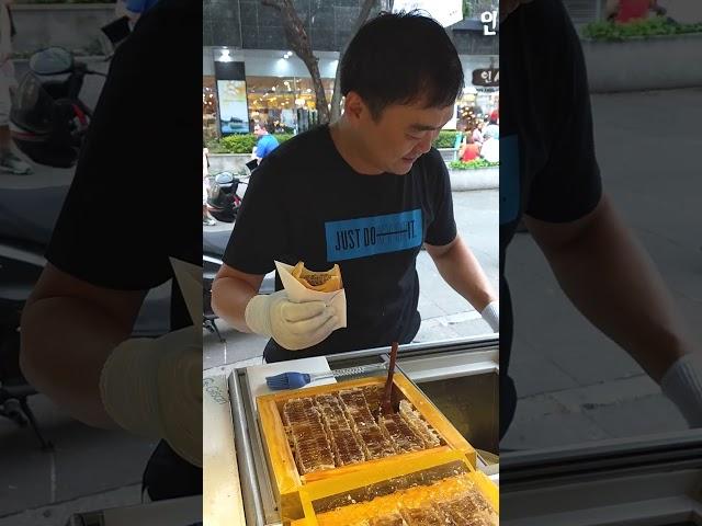 Сеул - рибка, Орео, мед и сладолед