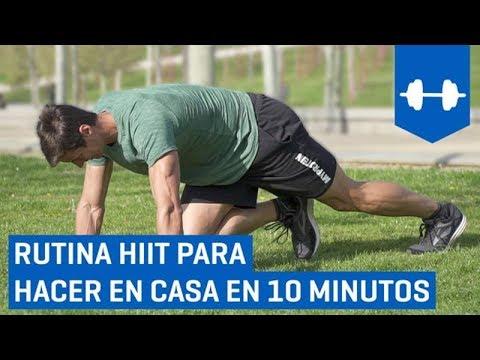 Como hacer hiit corriendo