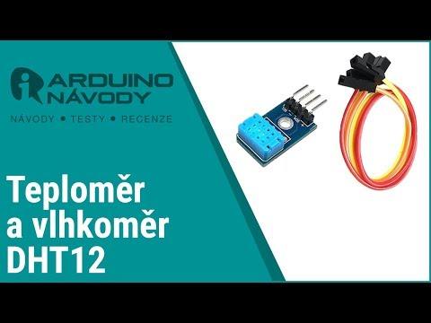 Arduino Návody | Teploměr A Vlhkoměr DHT12