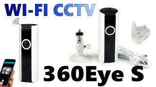 Wi-fi CCTV camera 360Eye S with Speak back Unboxing