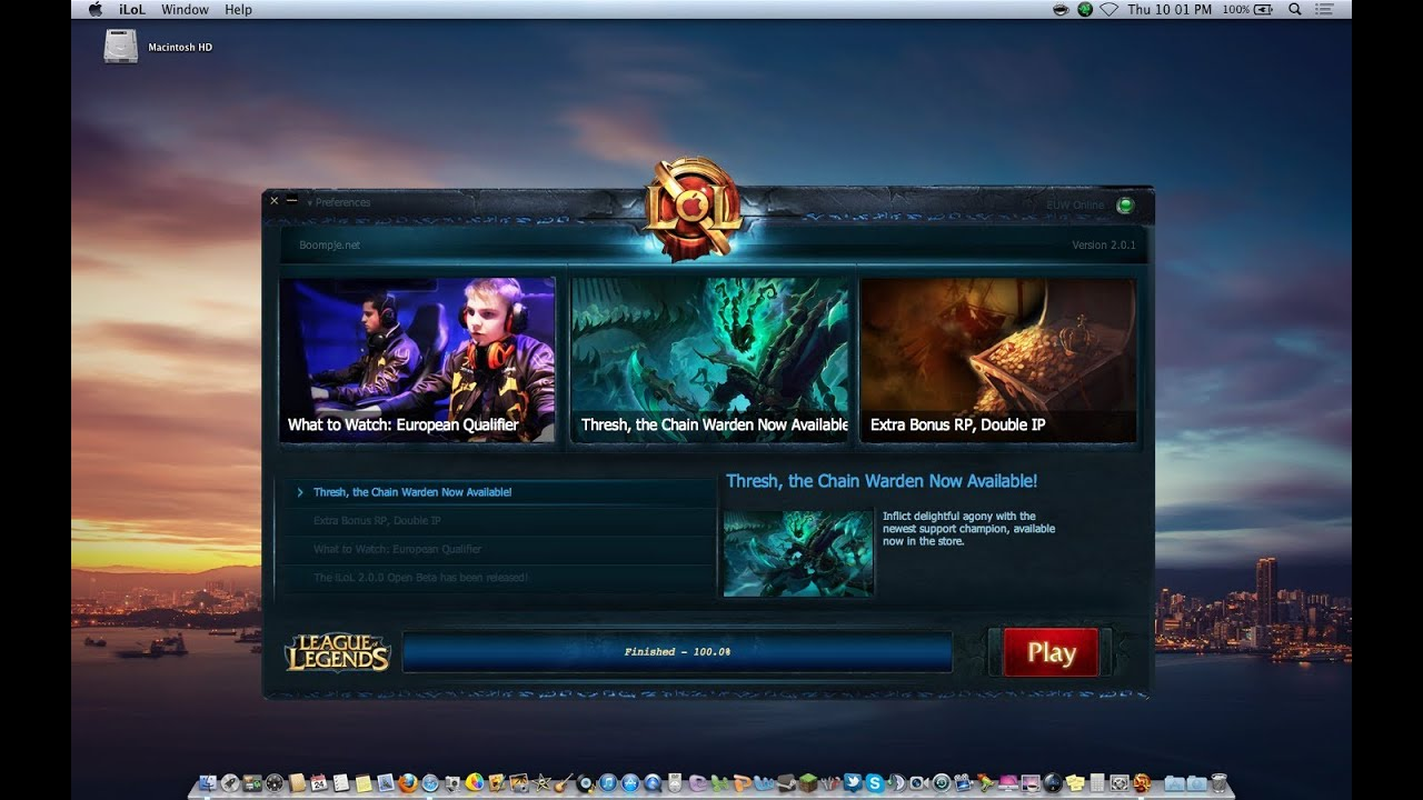Macbook Pro Gaming Performance #4 (League of Legends ...