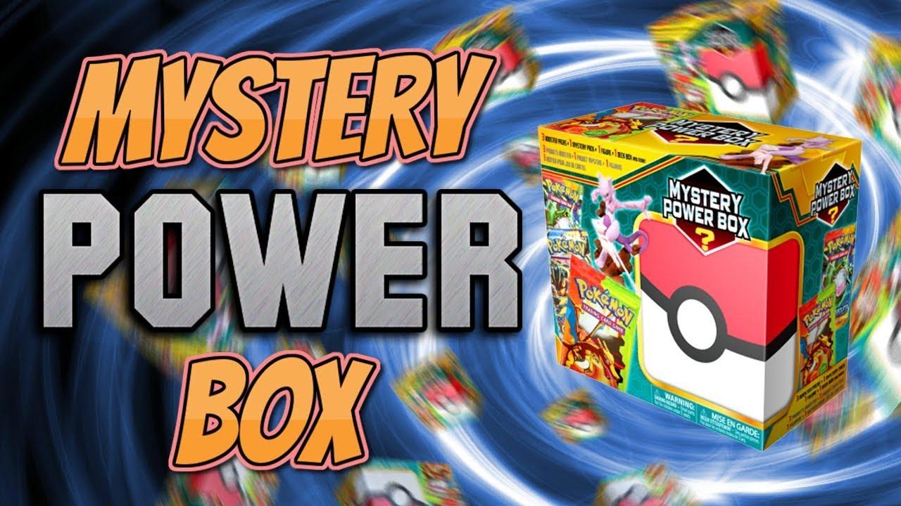$50 Pokemon Mystery Box! Opening a MYSTERY BOX full of ... |Pokemon Mystery Box