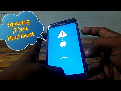Samsung J7 NXT Mobile Hard Reset No Command Problem Solved