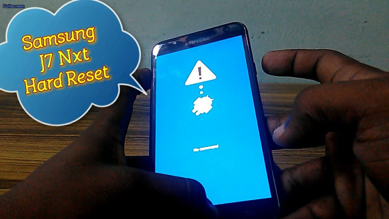 Samsung J7 NXT Mobile Hard Reset No Command Problem Solved