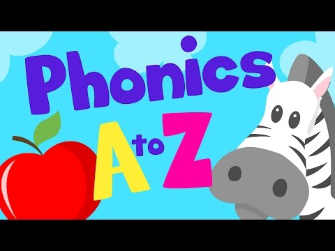 PHONICS A to Z for kids | Alphabet Letter Sounds | LOTTY LEARNS