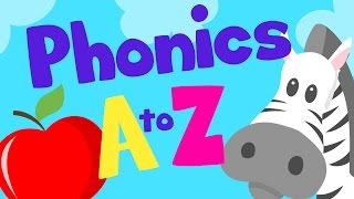 PHONICS A to Z for kids  Alphabet Letter Sounds  LOTTY LEARNS