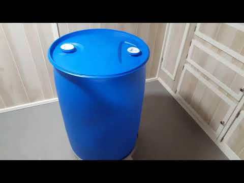 Long-Term Water Storage with 55 Gallon Barrels