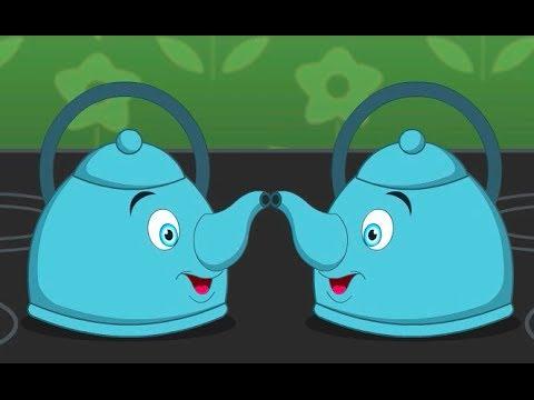 Polly Put The Kettle On Nursery Rhyme | Cartoon Animation Songs For Children