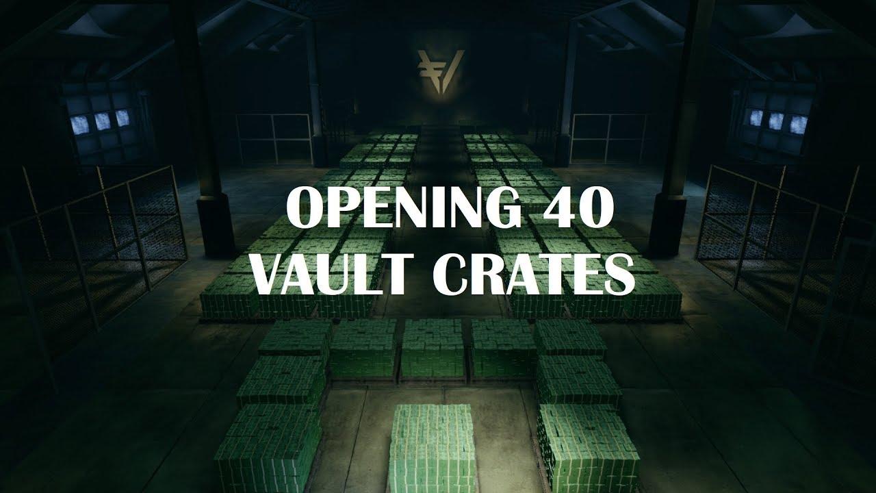 Killing Floor 2 Opening 40 Vault Crates After Prestige