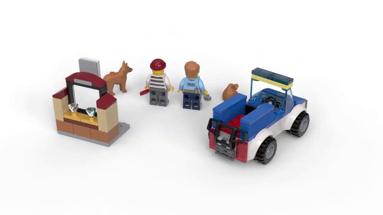 video LEGO City Vuilniswagen – 60118